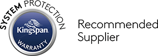 kingspan warranty recommended supplier